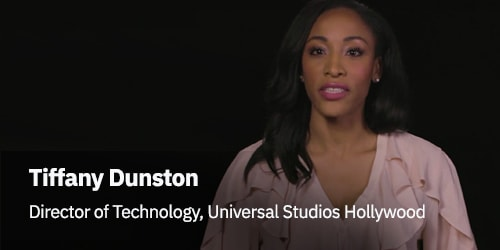 Tiffany Dunston, Universal Studios representative