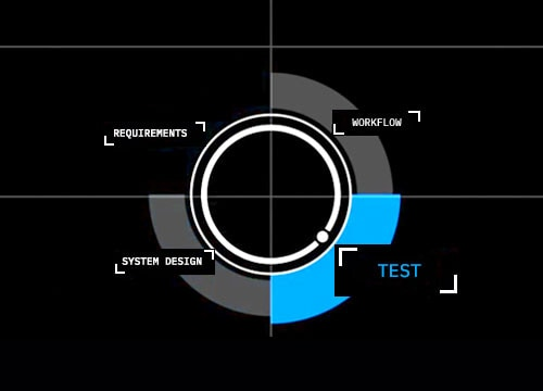 circle graphic test selected