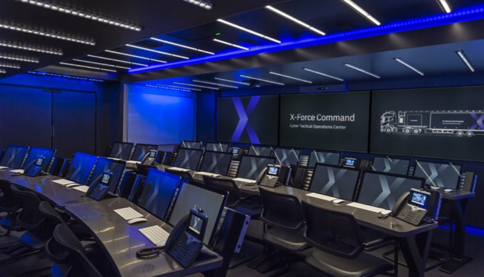 IBM Security control room