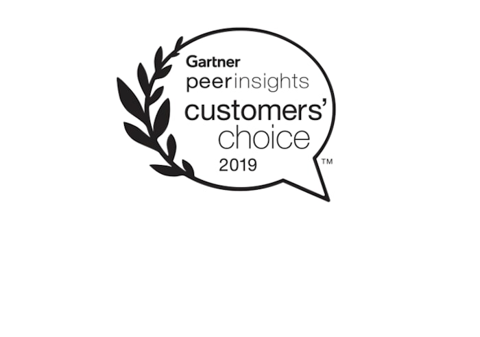 Logo von Gartner Peer Insights – IBM Cloud Infrastructure