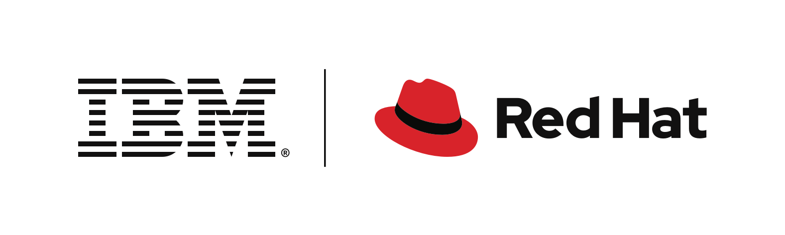 Red Hat IBM logo