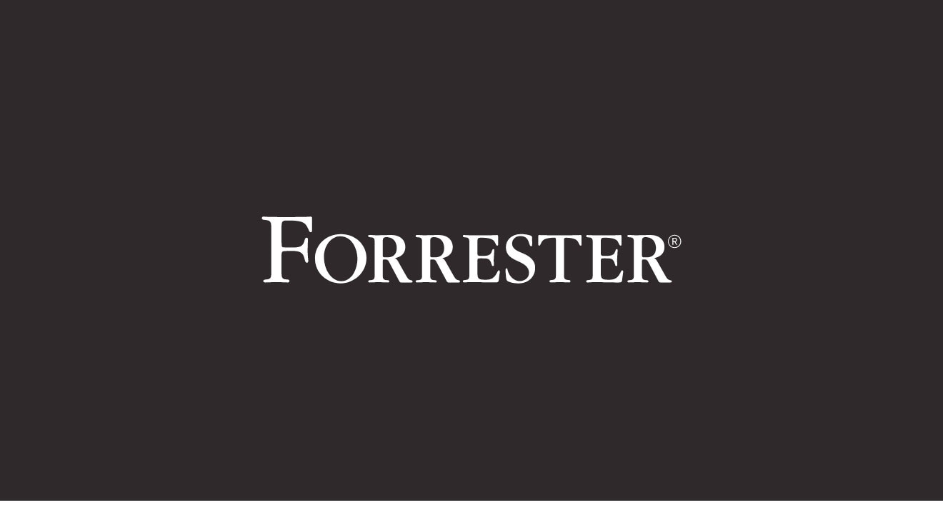 Logotipo do nome da marca Forrester