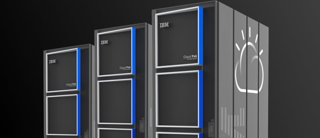 Screen shot of servers from a video on IBM Performance Server as a Netezza migration option