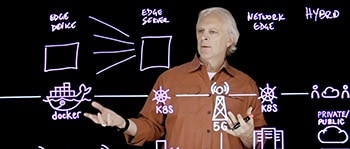 Rob High, IBM fellow and CTO, video still