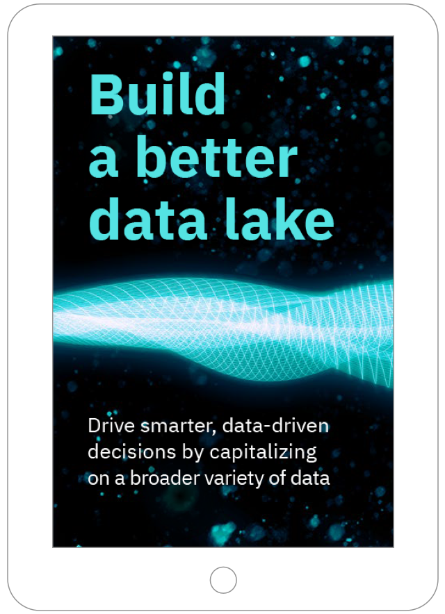 Building a better data lake ebook thumbnail