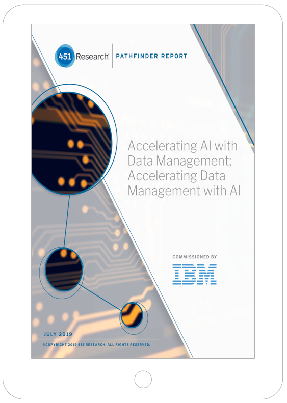 Thumbnail of AI-driven data management 451 Research report