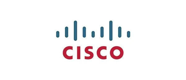 logotipo de cisco rojo y azul