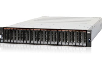 FlashSystem 5000H hybrid flash storage