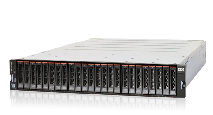 IBM FlashSystem 5010/5030 all flash and hybrid flash storage units