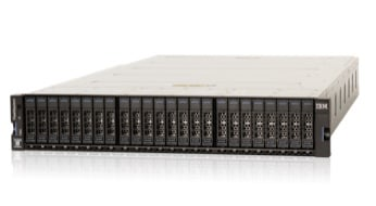 IBM FlashSystem 7200 flash and hybrid flash storage unit