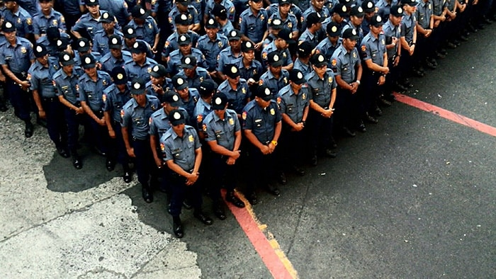 police formation