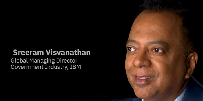 Sreeram Visvanathan, the IBM global managing director face.