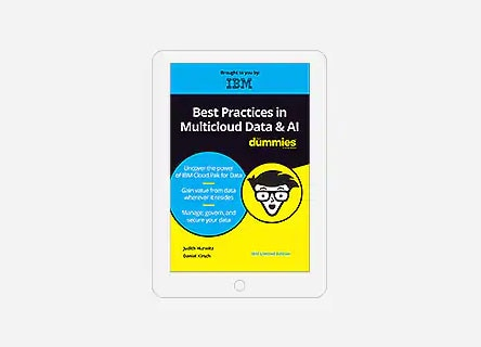 Best Practices in Multicloud Data and AI For Dummies