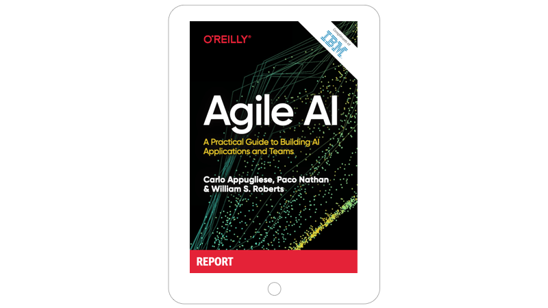 Agile AI book cover