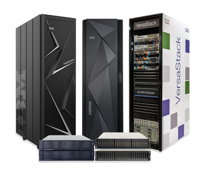 Flash storage and all flash arrays family of products