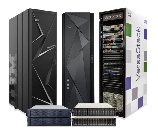 IBM FlashSystem family of products