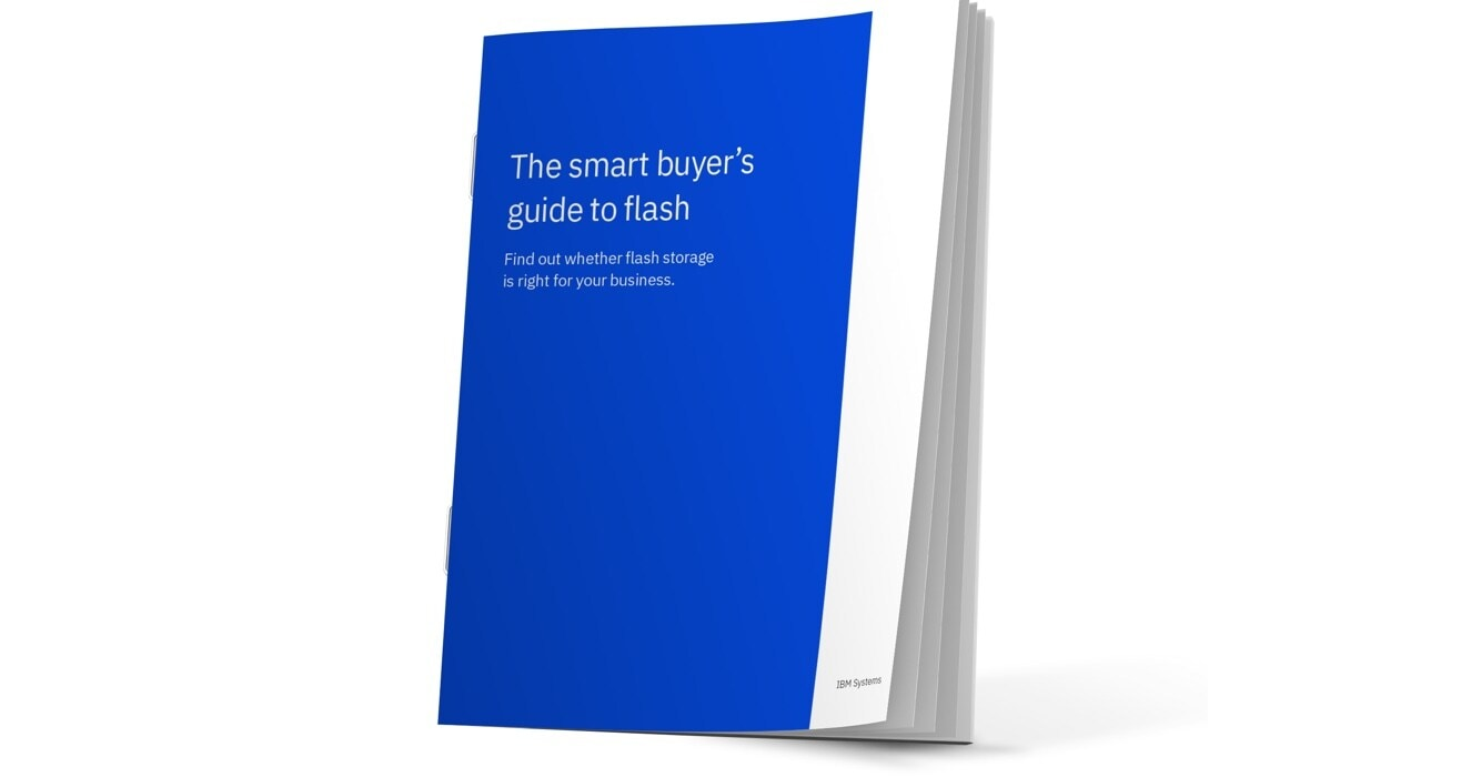 Cover to The smart buyer's guide to flash