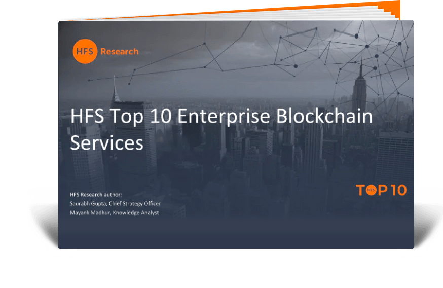 HFS Research | HFS Top 10 Enterprise Blockchain Services