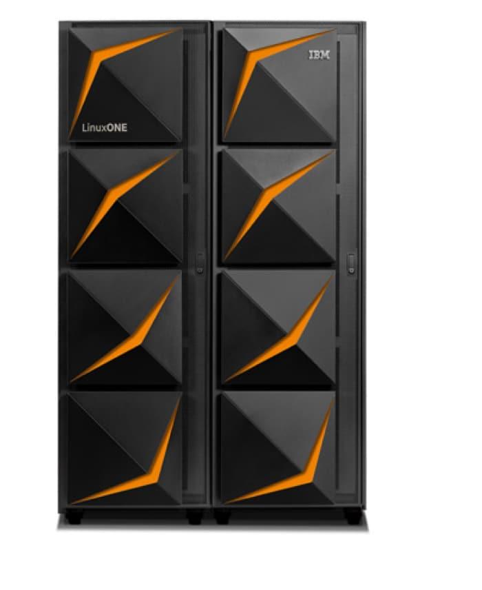 LinuxONE III multi-frame