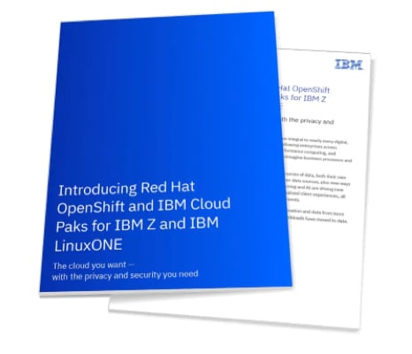 Read the Red Hat OpenShift and IBM Cloud Paks overview