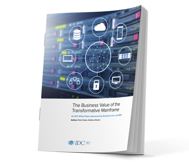 Read IDC paper on Business Value of the Transformative Mainframe