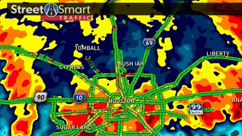 Demonstrating integrated weather and traffic with Max Traffic