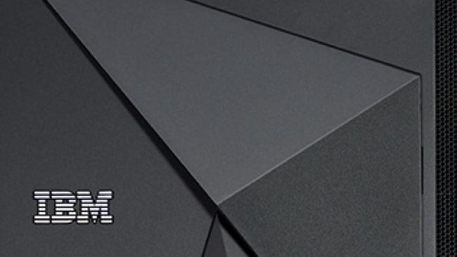 IBM DS8900 Storage server closeup