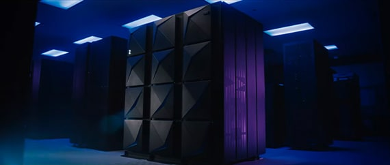 Mainframe in a data center