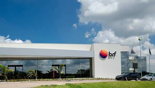 front of the BRF building