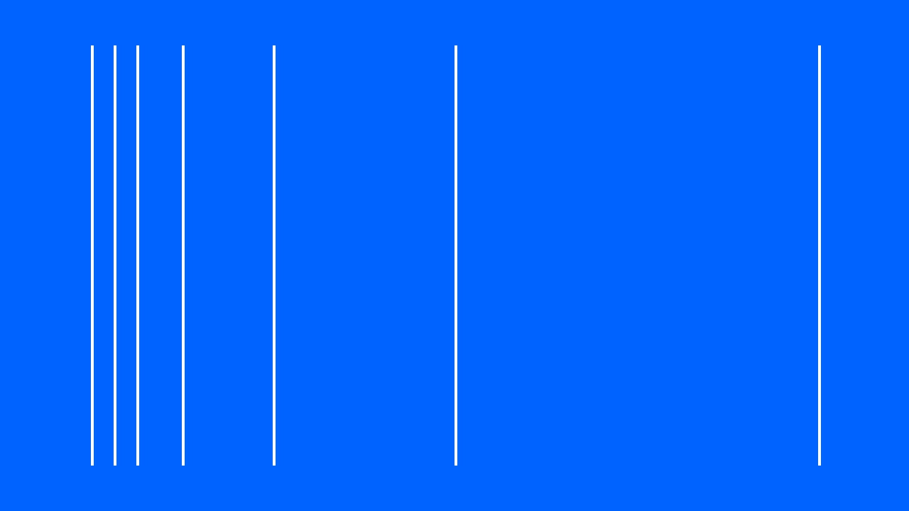 blue background with vertical lines