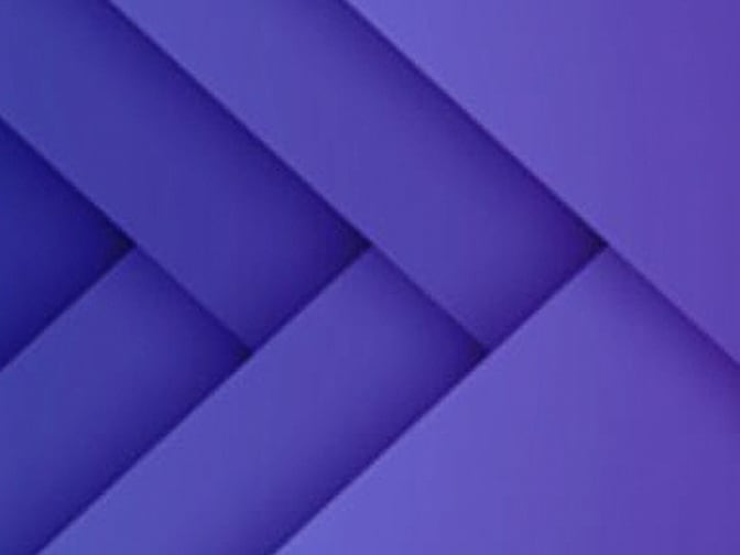 Intersecting purple geometric pattern