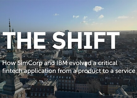 SimCorp x IBM – A Cloud Transformation Story