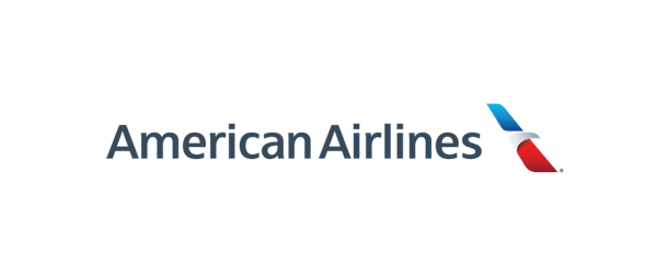 Logo linii American Airlines