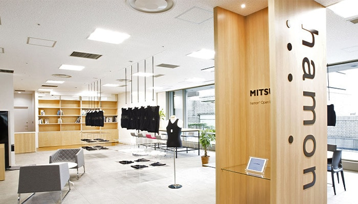 Mitsufuji innovative wearables design studio interior