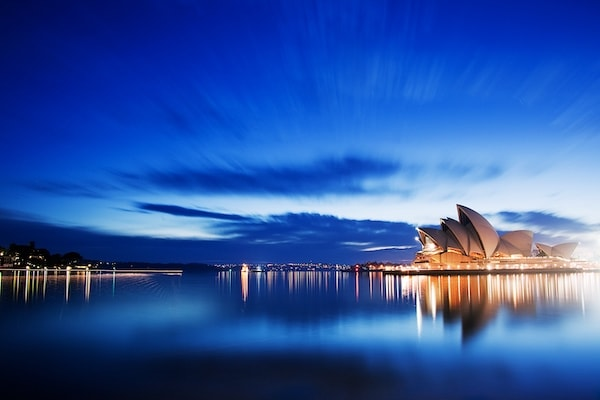 Sydney Harbour in Australien