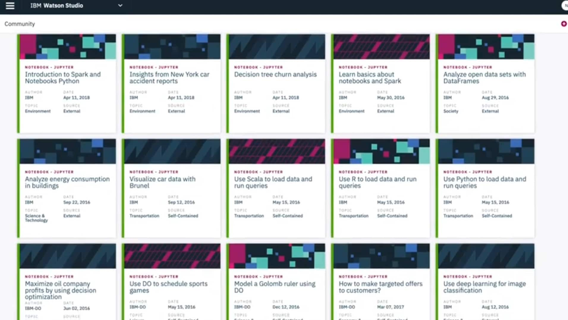 IBM Decision Optimization for Watson Studio