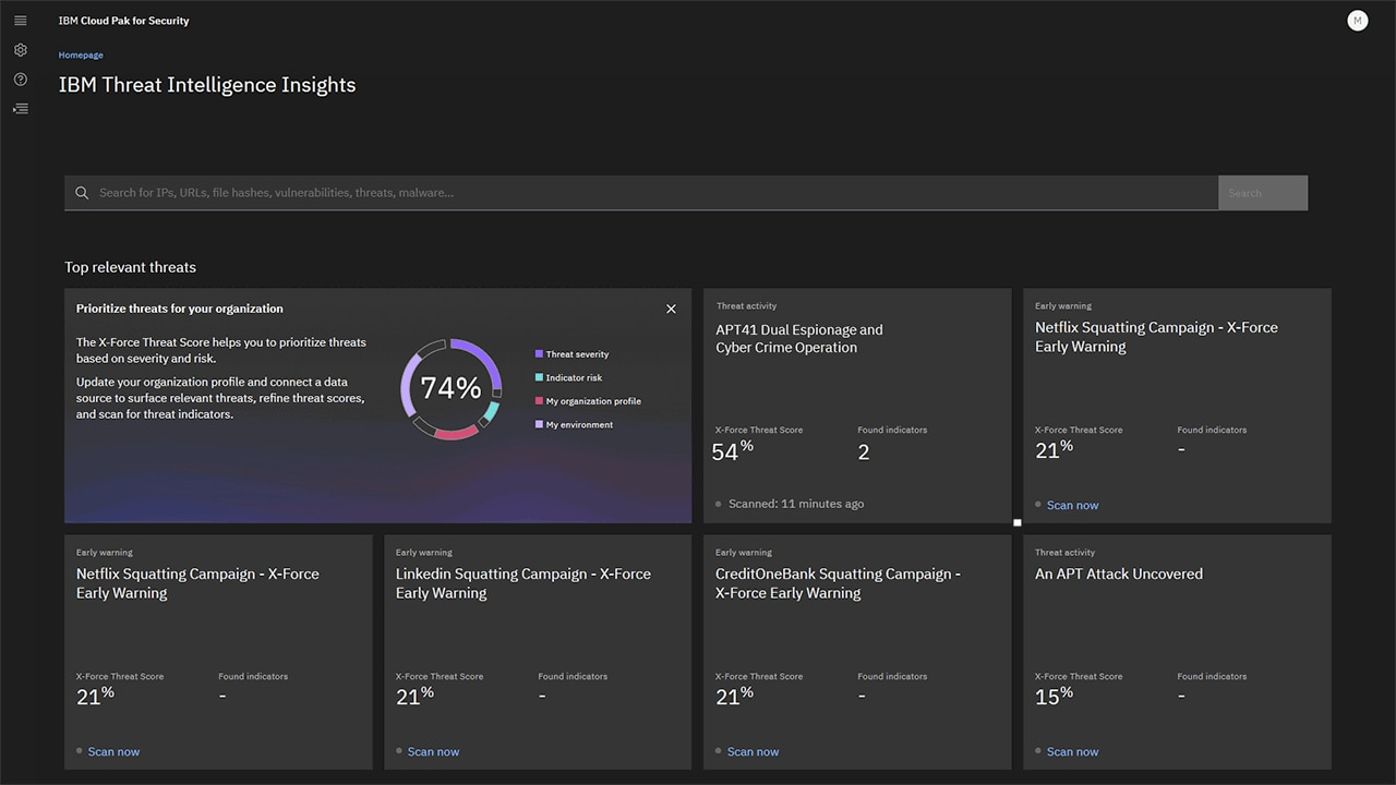 IBM Security Threat Intelligence Insights