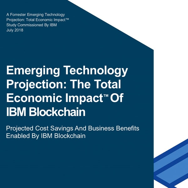 Cover of Forrester Total Economic Impact (TEI) report