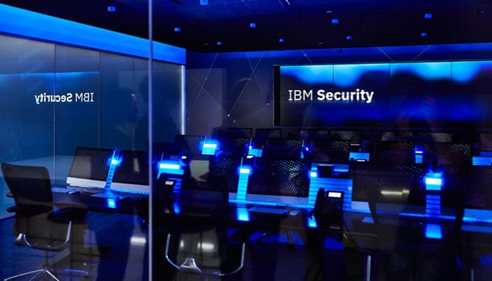 ibm security command center room