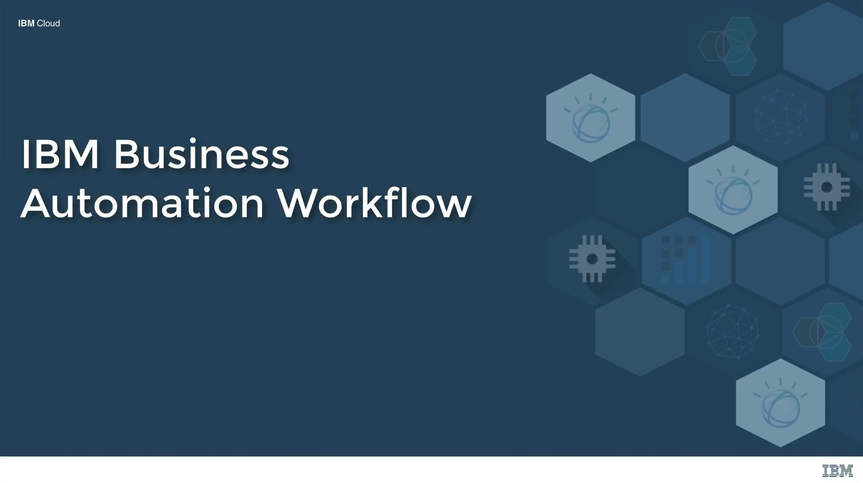 IBM Business Automation Workflow - Demo