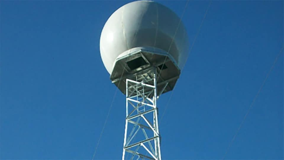Weather Company EEC Weather Radars