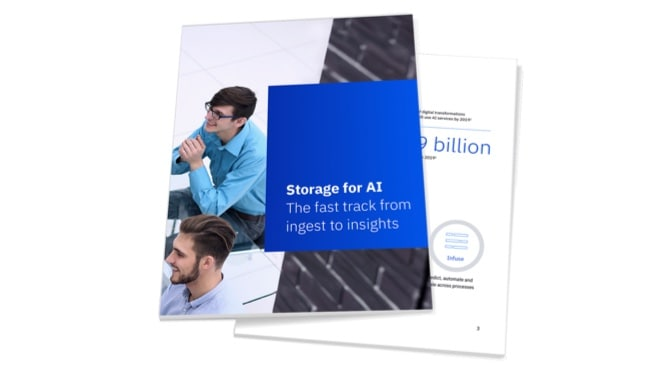 Storage for AI booklet cover