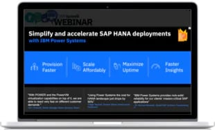 webinar power systems sap hana