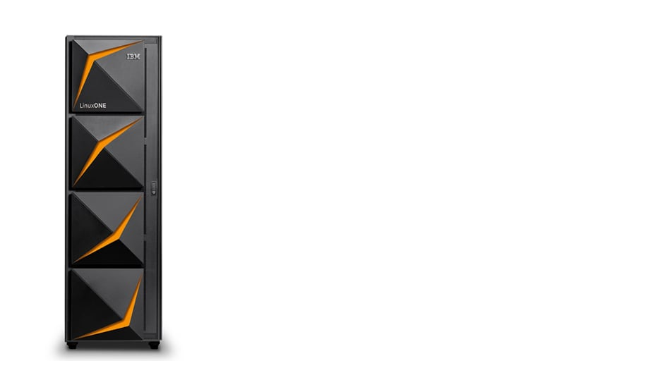 IBM LinuxONE III server