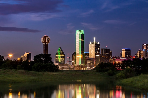 cityscape in dallas