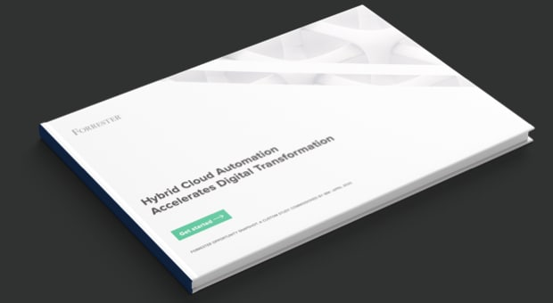 Informe de Forrester, Hybrid Cloud Automation Accelerates Digital Transformation