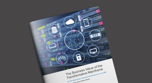 IDC report on the business value of the transformative mainframe