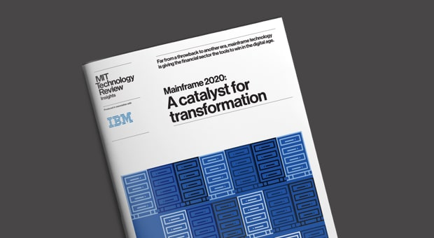 Mainframe 2020, MIT Technology Review Insights
