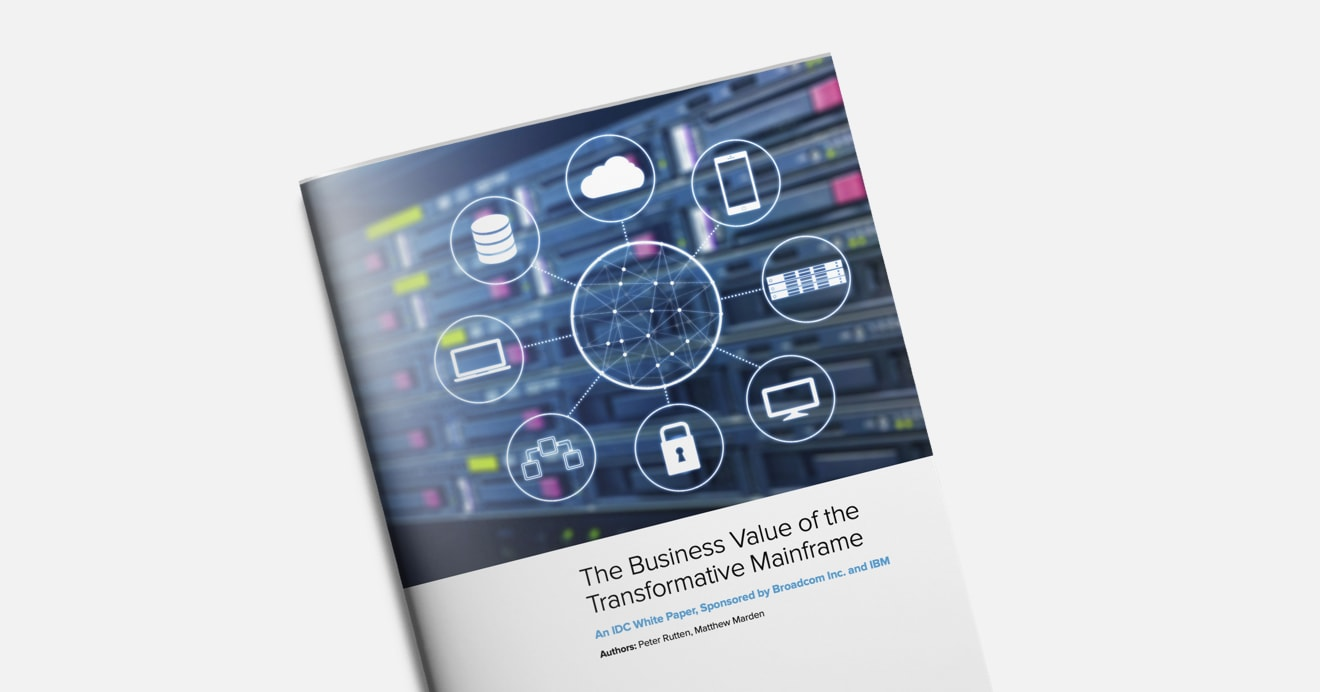 IDC white paper on the business value of the mainframe