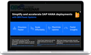 The economic impact of IBM Power Systems for SAP Hana